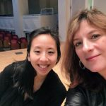 Pianist, Angela Park. We were at a recording session @ Auer Hall in December 2016.