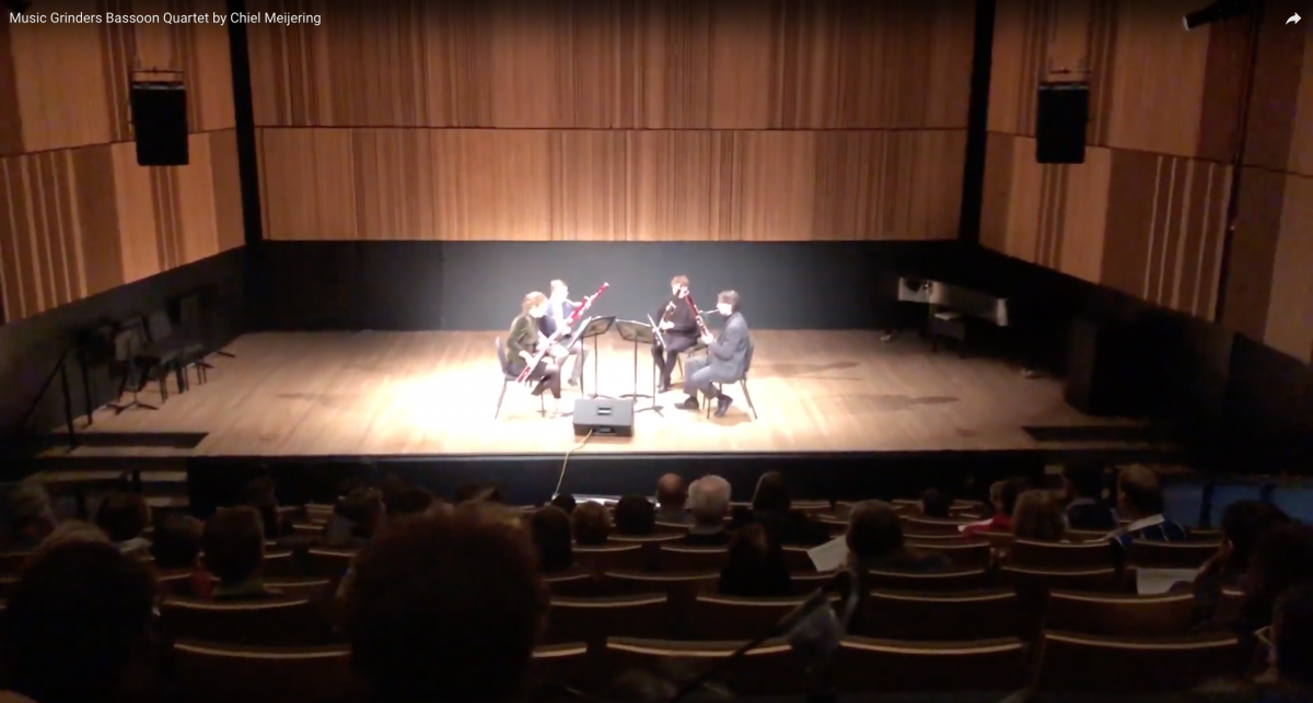 Music Grinders Bassoon Quartet by Chiel Meijering – Part 1