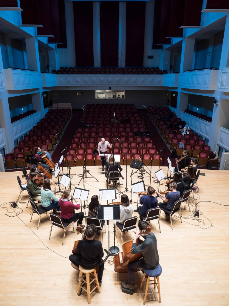 Recording Session December 13,2017 Auer Hall, Jacobs School of Music Indiana University  works by Chiel Meijering