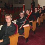 IU Bassoon Studio With Adam Romey, Stephen Duncan, Cornelia Sommer, Cathryn Gaylord, Cyrus Roat and Kathleen McLean.
