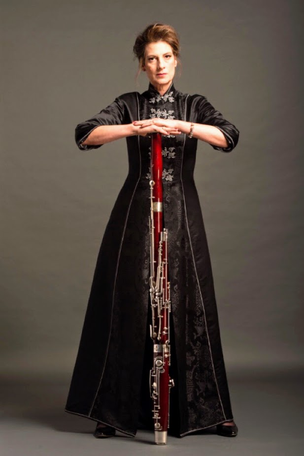 Kathleen McLean - Bassoon - Photo by Robert Divito in Toronto, Canada