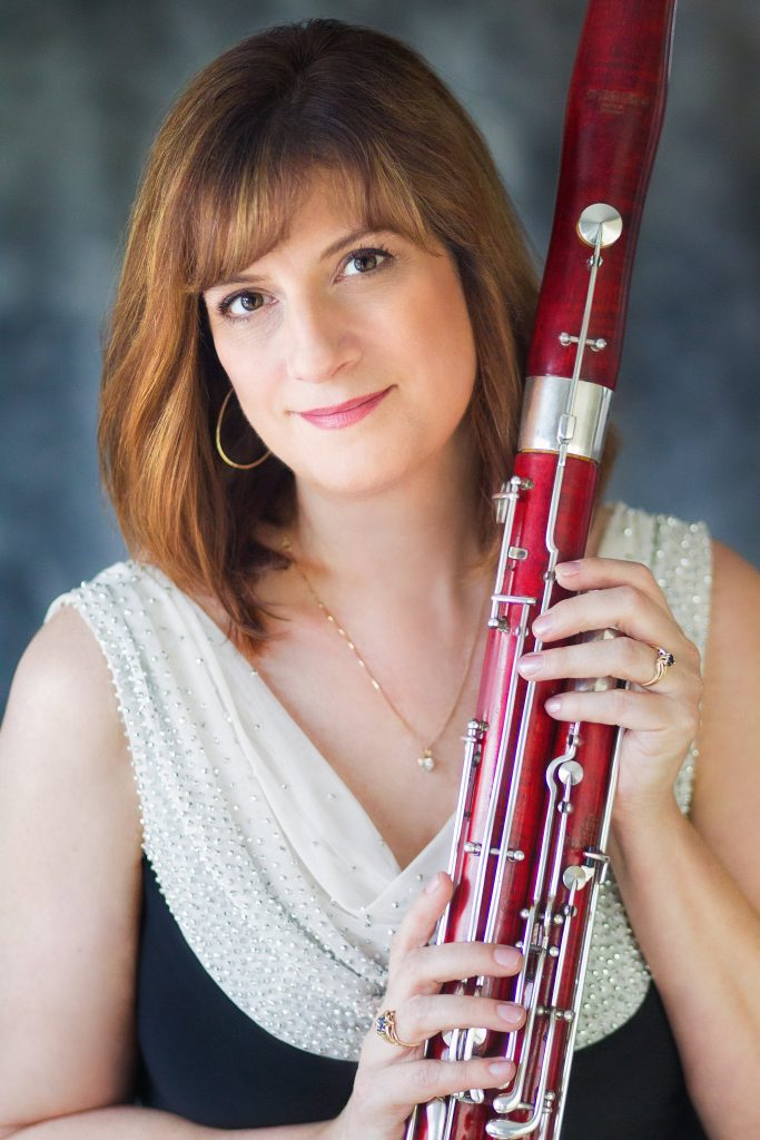 Kathleen McLean - Bassoonist and Pedagogue Headshot